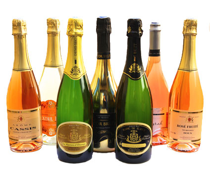 Sparkling wines<br>Traditional method